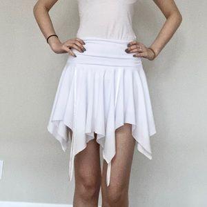 Le Chateau • White Skirt